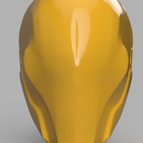 Free STL Deathstroke Mask with no eyes, VillainousPropShop
