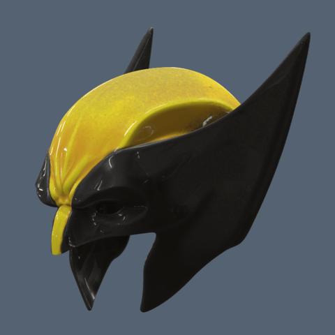 Wolverine Masks Long 3.png Download STL file Wolverine Mask • 3D printable model, VillainousPropShop