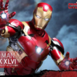 Download free 3D print files Iron Man Mark 46 Helmet (Captain America Civil War), VillainousPropShop