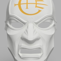 Download free 3D printer files Dishonored Overseer Mask, VillainousPropShop