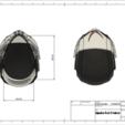 d2.png Download STL file Deathstroke Injustice Helmet • 3D printable model, VillainousPropShop
