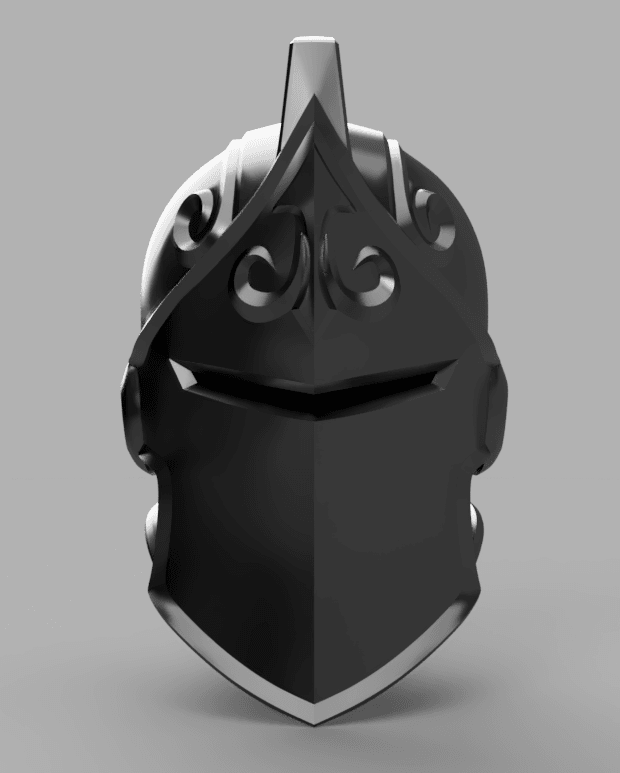 Black_Knight_Helmet_2018-Jun-02_07-17-36PM-000_CustomizedView6612307697.png Download OBJ file Black Knight from Fortnite • 3D print design, VillainousPropShop