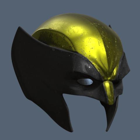 Wolverine Masks Short 3.png Download STL file Wolverine Mask • 3D printable model, VillainousPropShop