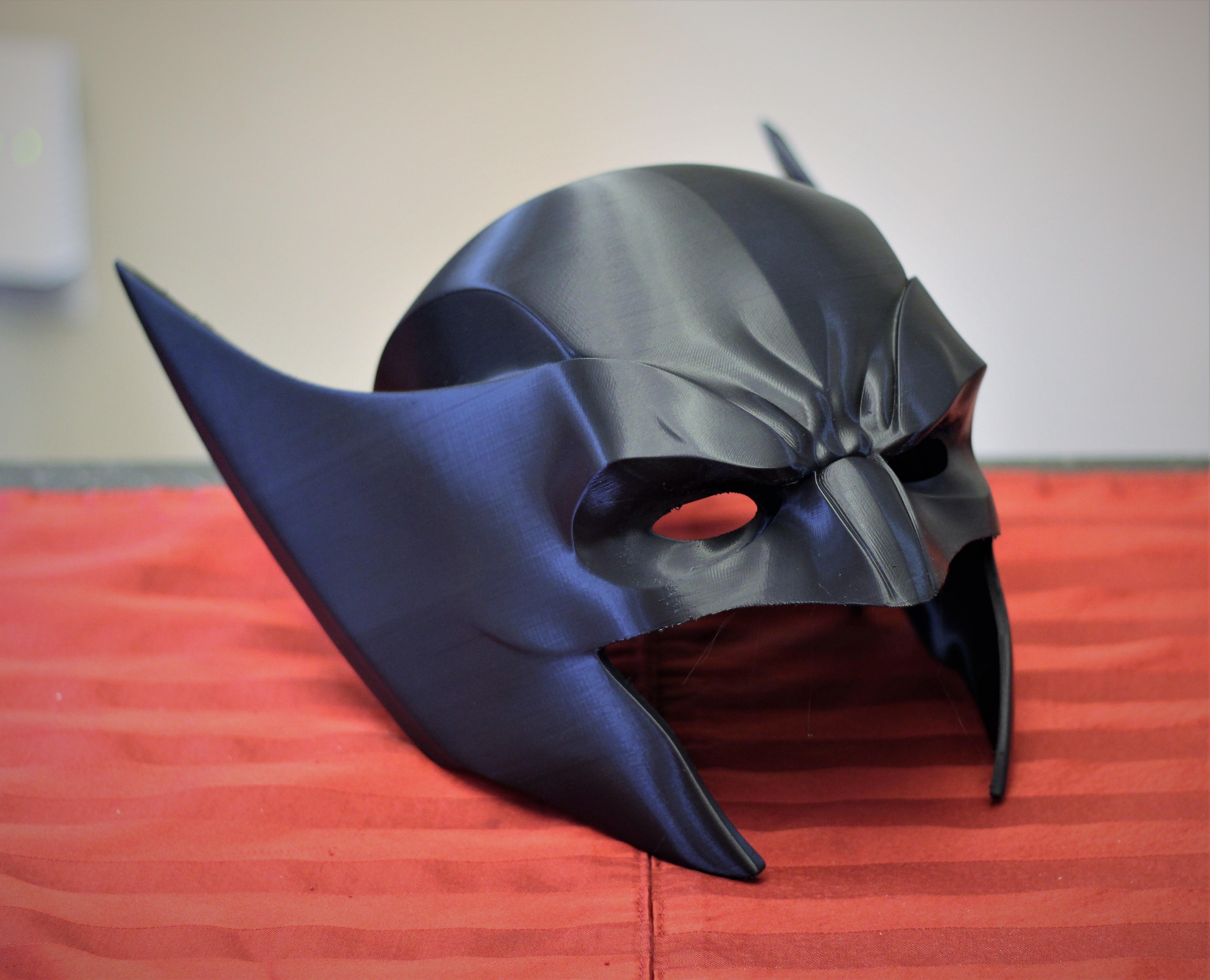 IMG_0198.JPG Download STL file Wolverine Mask • 3D printable model, VillainousPropShop