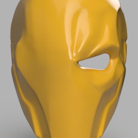 Download free 3D printing templates Deathstroke Mask, VillainousPropShop