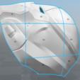 split2.png Download STL file Red Hood Helmet Injustice 2 • Model to 3D print, VillainousPropShop