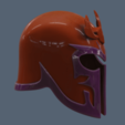 STL Magneto helmet version 2, VillainousPropShop