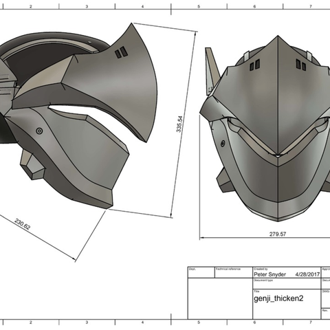 Capture d'écran 2017-09-14 à 17.25.24.png Download free STL file Genji Helmet (Overwatch) • 3D printing template, VillainousPropShop