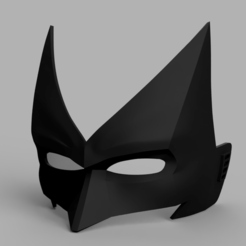 Download 3D printer designs Batwoman Mask, VillainousPropShop