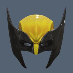 STL Máscara de Lobezno, VillainousPropShop
