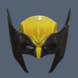 Wolverine Masks Long.png Download STL file Wolverine Mask • 3D printable model, VillainousPropShop