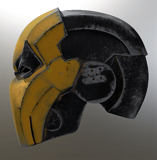 deathstroke Helmert Injustice 3.png Download STL file Deathstroke Injustice Helmet • 3D printable model, VillainousPropShop