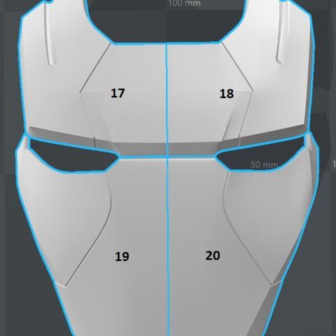 Capture d'écran 2017-09-15 à 17.34.59.png Télécharger fichier STL gratuit Iron Patriot Helmet (Iron Man) • Objet à imprimer en 3D, VillainousPropShop