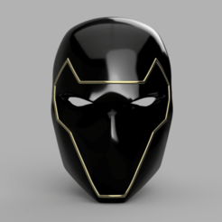 Download 3D model Ronin Helmet aka Hawkeye, VillainousPropShop