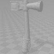 Free 3D model Walnut Basher, VillainousPropShop