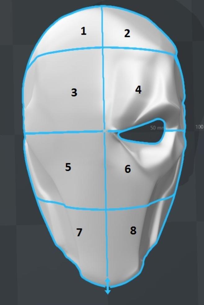 Capture d'écran 2017-09-14 à 18.01.32.png Download free STL file Deathstroke Mask • 3D printable object, VillainousPropShop