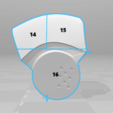 split4.png Download STL file Deathstroke Injustice Helmet • 3D printable model, VillainousPropShop