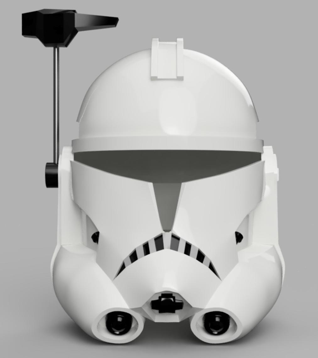 Capture d'écran 2017-09-15 à 19.15.36.png Télécharger fichier STL gratuit Capitaine Rex Casque Phase 2 (Star Wars) • Plan imprimable en 3D, VillainousPropShop