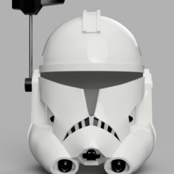 Download free 3D printer designs Captain Rex's Helmet Phase 2 (Star Wars), VillainousPropShop