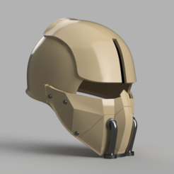 Capture d'écran 2017-12-27 à 10.13.18.png Download free STL file Synth Field Helmet (Fallout 4) • 3D printable template, VillainousPropShop
