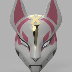 3d model Drift Mask Fortnite, VillainousPropShop