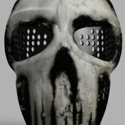 Download free 3D model Army of Two Mask, VillainousPropShop