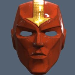 Fichier imprimante 3D Casque Tornade Rouge, VillainousPropShop