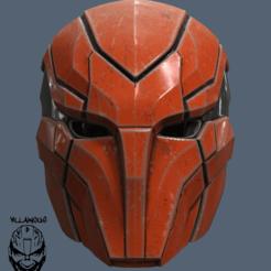 Modelos 3D para imprimir Casco Red Hood Injustice 2, VillainousPropShop