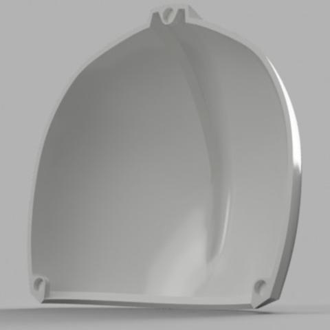 Capture d'écran 2017-09-15 à 16.15.13.png Download free STL file  Blood Dragon Helmet Mass Effect 2 (With Back Access) • 3D printable template, VillainousPropShop