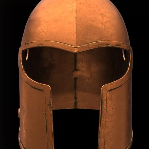 Capture d'écran 2017-09-14 à 15.55.18.png Download free STL file For Honor Warden Helm - Knight • 3D print template, VillainousPropShop