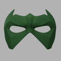Blademaster_Robin_Domino_2018-May-04_04-04-11AM-000_CustomizedView5645545545.png Download STL file BladeMaster Robin Mask • 3D printable object, VillainousPropShop