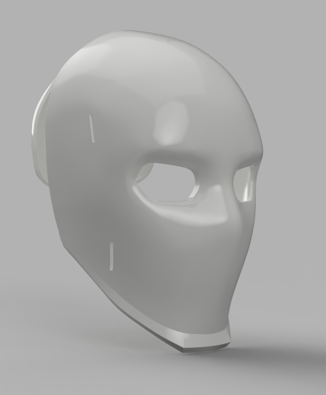 Wild Card Mask.png Download STL file Wild Card Masks Fortnite  • 3D print model, VillainousPropShop