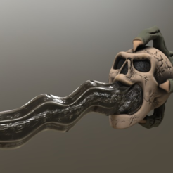 Free Warlock's Buttering Knife 3D model, killonious