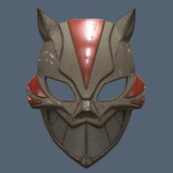Modelos 3D para imprimir Máscara Cheshire, VillainousPropShop