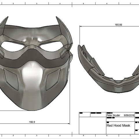 d2.png Download STL file Red Hood Mask • 3D printing object, VillainousPropShop