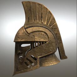 Download free 3D printing models  Dwarven Helmet (Skyrim), VillainousPropShop
