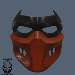 Download STL files Red Hood Mask, VillainousPropShop