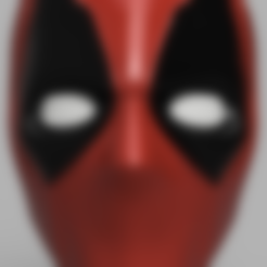 Deadpool_Mask_v3.stl Download free STL file Deadpool Mask • 3D printer object, VillainousPropShop
