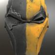 Deathstroke.png Download STL file Deathstroke Injustice Helmet • 3D printable model, VillainousPropShop