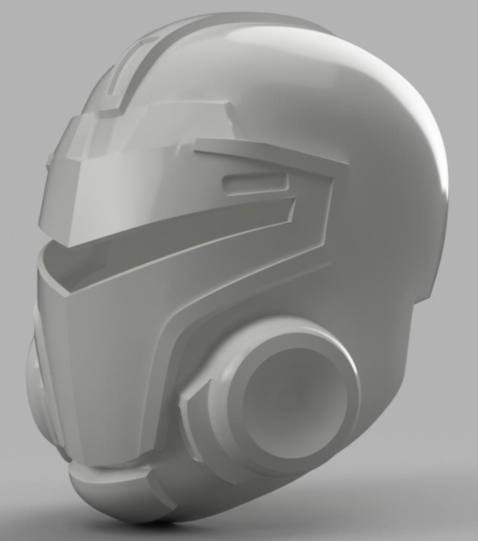 Capture d'écran 2017-09-15 à 16.14.55.png Download free STL file  Blood Dragon Helmet Mass Effect 2 (With Back Access) • 3D printable template, VillainousPropShop
