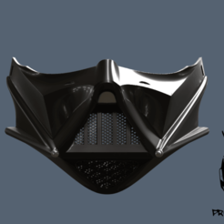 Darth_Vader_Face_Mask_2.png Download free OBJ file Darth Vader Face Mask • 3D printer object, VillainousPropShop