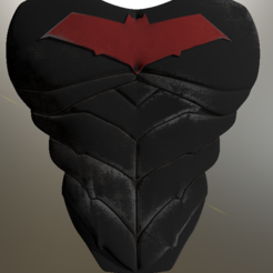 Red Hood Armor 4.png Download STL file Red Hood Chest Armor Batman • 3D printer object, VillainousPropShop