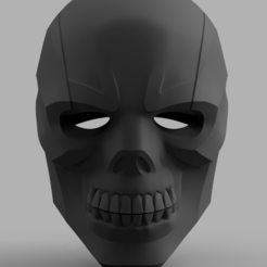 Black_Mask v2.png Download STL file Black Mask Helmet • Model to 3D print, VillainousPropShop