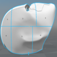 Red Hood Helmet Rebirth 3D model, killonious