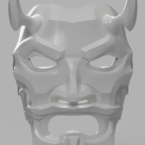 Free stl Uncle Oni Mask, VillainousPropShop