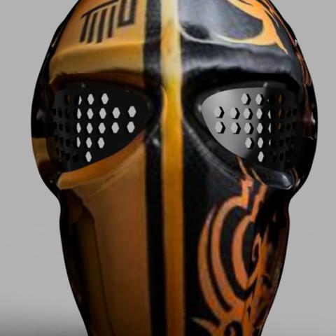VillainousPropShop Free 3D Printer Files Army Of Two Mask