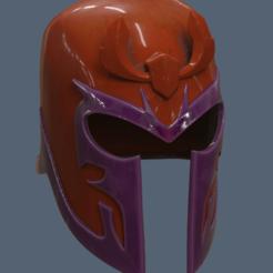 Archivos 3D Casco Magneto versión 2, VillainousPropShop