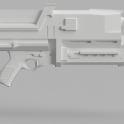 Download free 3D printing templates Phased Plasma Rifle in the 40 Watt Range (Terminator), VillainousPropShop