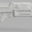 Free 3D printer files Phased Plasma Rifle in the 40 Watt Range (Terminator), VillainousPropShop