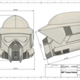 Fichier 3D Casque ARF Trooper, killonious